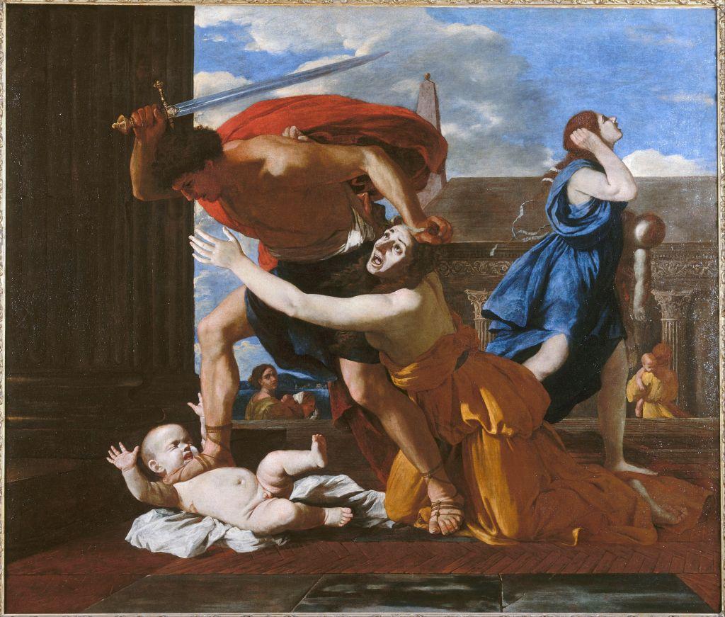 Николя Пуссен, 17 век.